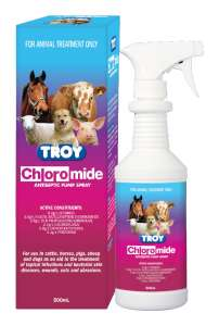 Troy Chloromide Antiseptic Spray