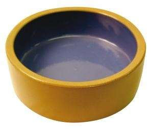 Masterpet Dog Bowl Stoneware Brown