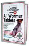 Aristopet All Wormer Tablets for Dogs 10kg/Tablet Carded