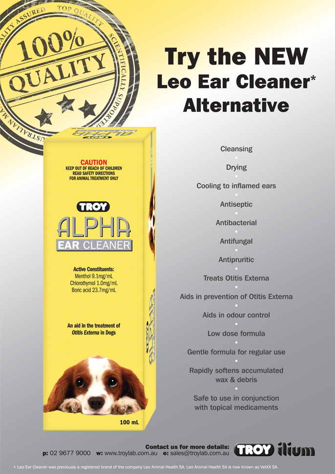 Troy Alpha Ear Cleaner - The NEW Leo Ear Cleaner Alternative!