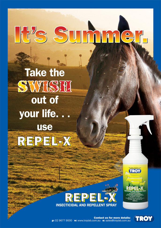 Troy Repel-X - Insecticidal & Repellant Spray!